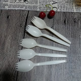 Майцена устранимое Spork Cutlery Biodegradable Flatware Compostable