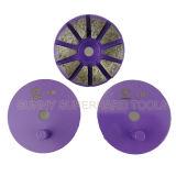 3 duim 10 Seg 1 Malende Schijf van de Band van het Metaal van de Speld voor Concrete Molen