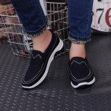 Tissu neuf d'hommes de Pékin de ressort le vieux chausse les chaussures de mode de chaussures occasionnelles de désodorisant des hommes coréens plats inférieurs de marée