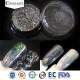 De fines paillettes multicolors holographique clous fabricant