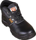 De Schoenen van de Veiligheid van het Leer van de koe voor Mensen/de Schoenen van de Veiligheid van de Teen van het Staal/de Schoenen van de Bedrijfsveiligheid