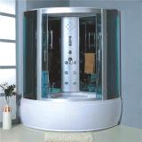 La moderna cabina de ducha de hidromasaje de esquina con bañera Combo