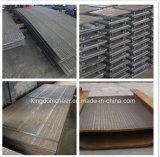 Placa de sobreposição de carboneto de crómio/Placa de Desgaste
