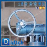Válvula de mariposa superior compensada de la entrada del triple de Didtek Dn800