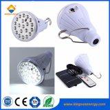 Ampoule de LED rechargeable lumière solaire pour la maison de l'éclairage extérieur