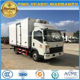 La nourriture de roues de Sinotruk HOWO 6 régénèrent le camion avec le réfrigérateur de transporteur