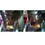 Gel Gel de mélange de fruits de mélangeur de turbulence de la crème glacée la machine