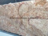 壁および床のための中国の黄色い石造りの花こう岩の建築材料のタイル