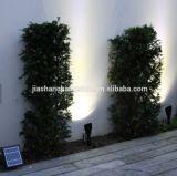 Ensemble de lumière solaire d'endroit de 2 lampes pour l'illumination extérieure