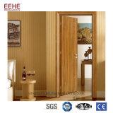 Portello arrotondato di legno interno economico del PVC del MDF