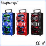 Luz de LED de alto-falante de madeira portátil com Bluetooth (XH-PS-727)