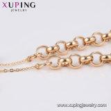 方法Xuping 18kの環境の銅73919の金張りの女性のアクセサリーのブレスレット