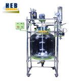 Exheb-80L Ex-Proof Reactor de vidrio revestido con baño calefactor.