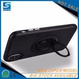 para el caso más del iPhone 6, para el caso del iPhone X, caja del teléfono de los accesorios del teléfono del soporte del anillo de la PC de los colores sólidos TPU