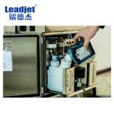 Pequeña impresora de inyección de tinta del carácter de Leadjet V98 para las latas