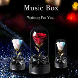 Regalo promozionale del fiore di Music Box per natale