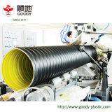 Изготовление трубы из волнистого листового металла спирали HDPE стальной полосы сертификата ISO и Ce усиленное