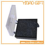 卸売のプラスチックの箱の宝石箱メダルボックスカフスボタンの習慣(YB-BX-434)