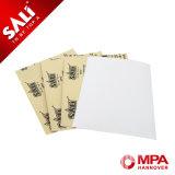Couleur Sable blanc du papier fait à partir d'aluminium blanc