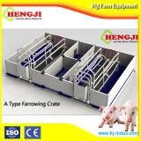 Профессиональная высокая процесс ТЗ Farrowing ящик для свиней