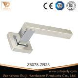 Запись ручки двери, серебристая цинка на ручке двери закрывается (Z6094-ZR17)