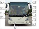 Chana partes separadas para autocarros e camiões