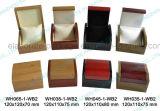로고를 가진 광택 있는 래커를 칠한 목제 보석 선물 수송용 포장 상자를 주문 설계하십시오