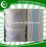 Pure perforée en plastique film PE à partir de serviette hygiénique de la fabrication de matières premières