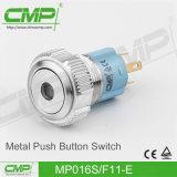 De Schakelaar van de Drukknop van het Metaal CMP 16mm