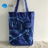 Small Pouch polyester Packing Handbags dead hand Foldable Shopping Bag with Hook
