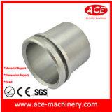 Peça fazendo à máquina do CNC do alumínio da placa do furo Drilling