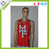 Good Quality Best Salt Sport Wear Stripe Custom Basketball Jersey for Club