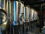 異なった容量のステンレス鋼の生ビールの生産機械