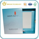 Rectángulo de regalo de la caja de fósforos de la cartulina de la fuente del fabricante para el cosmético