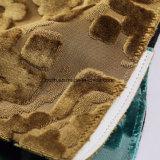 Goldfarbe Jacuqard Gewebe gestricktes Gewebe für vollständigen Verkauf