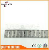 Etiqueta del lavadero de la frecuencia ultraelevada RFID de la materia textil del diseño industrial con vida laboral larga