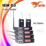 귀 모니터에 있는 오디오 시스템 UHF 마이크