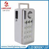 Cuerpo de ABS de la luz de emergencia de 12 LED con salida USB