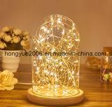 Moda 2018 Decoraciones de Pascua la luz de techo de cristal LED LED regalos de Navidad luz
