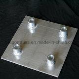 ISO9001 алюминиевое основание плиты соответствует 300*300 мм опорную