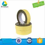 El doble amarillo echó a un lado cinta con el forro de la espuma de EVA (BY-ES15)
