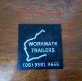 Aleta de borracha personalizada da lama do caminhão com seu logotipo