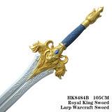 Rei real Espada Larp Warcraft Espada 105cm HK8484b