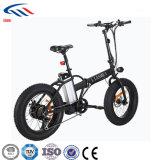bicicleta de dobramento elétrica escondida borda da bateria de lítio da liga do magnésio 36V/10.4A