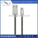 Het micro- USB Nylon van de Kabel vlechtte de Snelle Snelle Kabel USB van de Lader aan Micro- USB 2.0 het Laden Koord voor Mobiele Telefoon