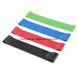 o laço ajustado de Gymnastikband Fitnessband Trainingbands Sportbands do látex 4PC une o equipamento