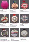 Rivestimento su ordinazione superiore dell'argento della medaglia di rettangolo dell'artigianato del metallo di marchio