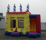 Inflatables federnd Schlösser für Geburtstagsfeiern (B3024)