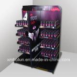 Visualizaciones acanaladas de /Shampoo del estante de visualización de /Paperboard del soporte de visualización del estante
