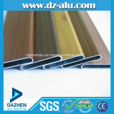 ألومنيوم قطاع جانبيّ مع صنع وفقا لطلب الزّبون لون يؤنود/مسحوق طبقة/حبة خشبيّ